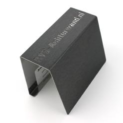 RVS plaat op maat - Zwart rvs - Anti-fingerprint