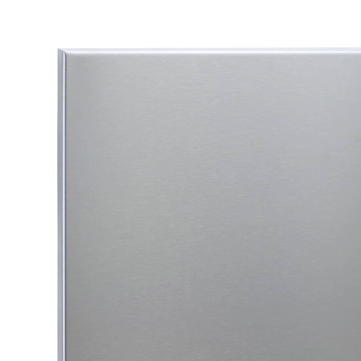 Verrassend RVS achterwand van 90 x 75 cm kopen? | rvs-achterwand.nl LH-84