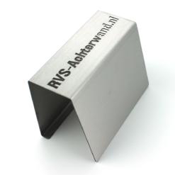 RVS plaat op maat - Geborsteld rvs - 0.8 - 3 mm dik