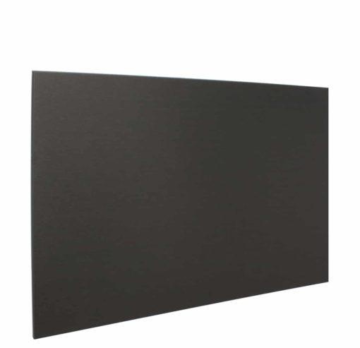 Achterwand Zwart 90 x 65