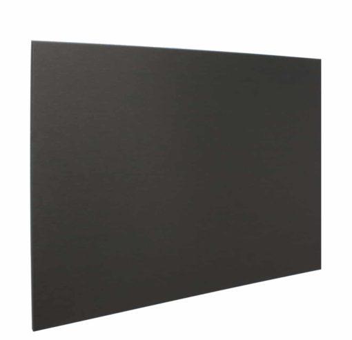 Achterwand Zwart 90 x 70