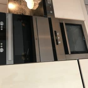 RVS Front onder oven