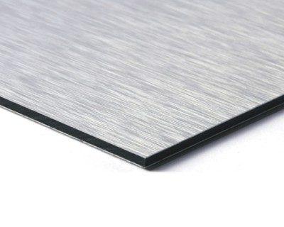 Aluminium achterwand