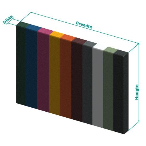 Achterwand keuken op maat - In kleur
