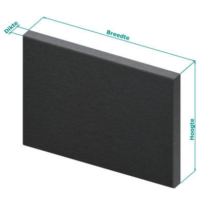RVS-Achterwand-zwart